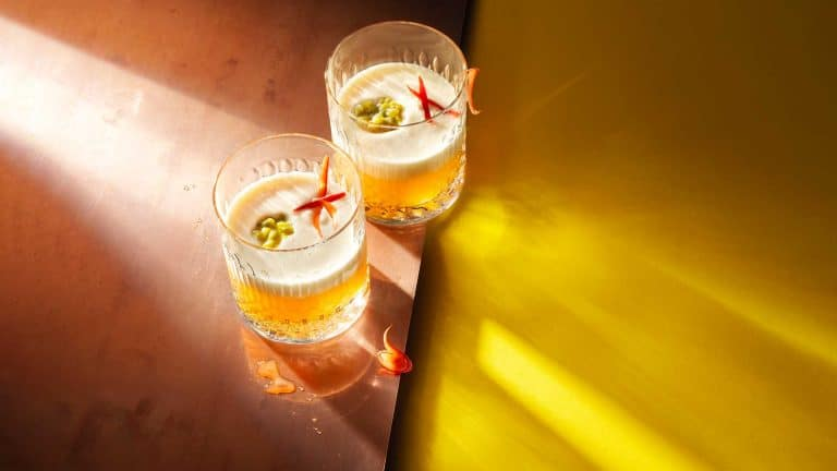 Spicy tequila cocktail