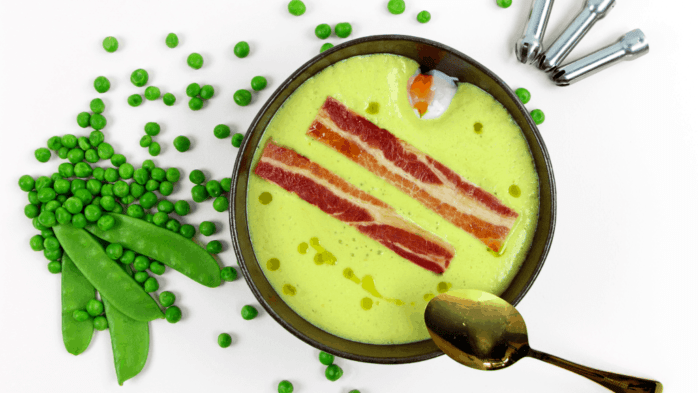 espuma recipe pea soup